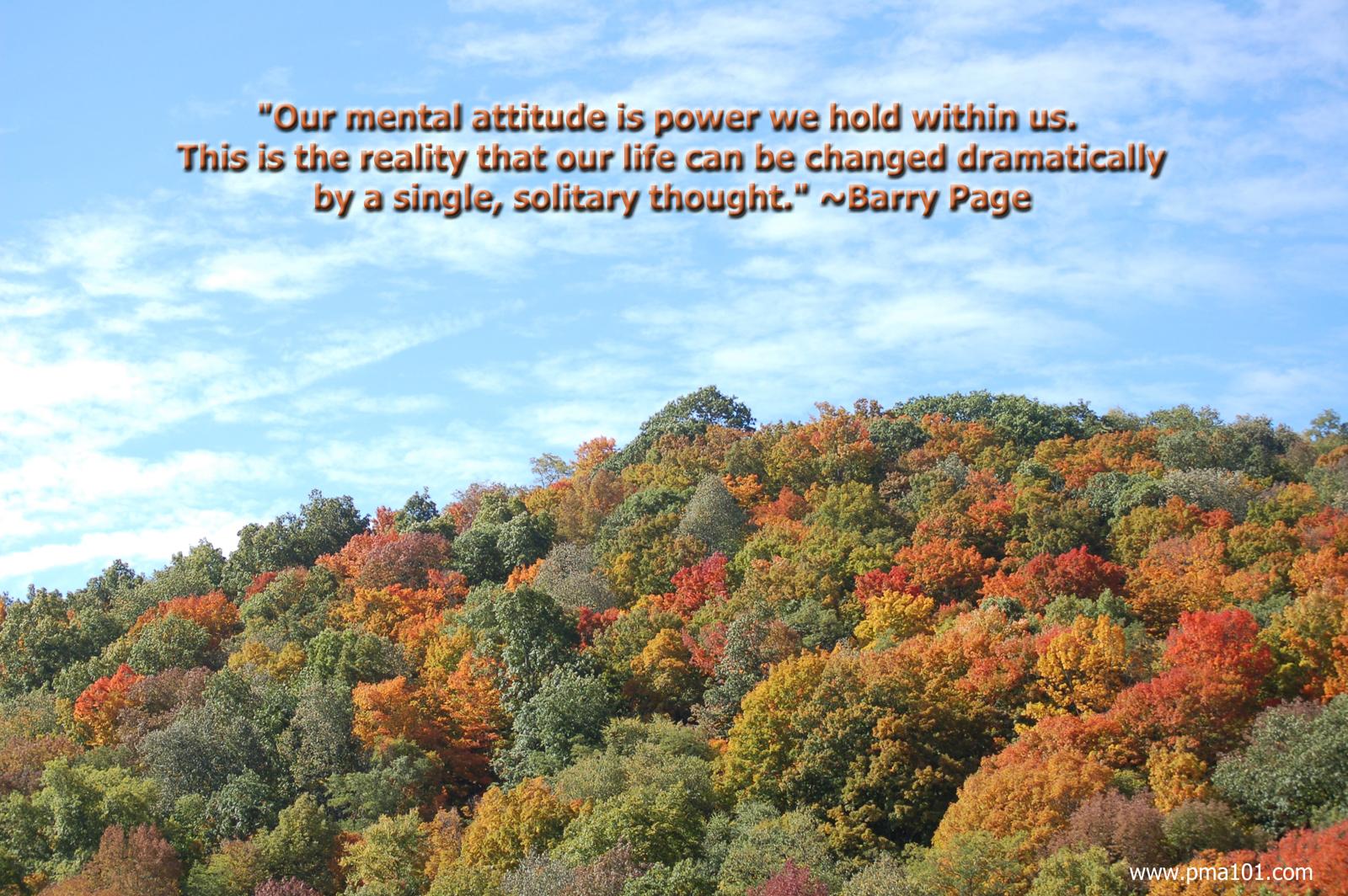 "attitude; pma; positive mental attitude; abundance; fall colors; blue sky; mountain view; ""snowshoe, wv"""